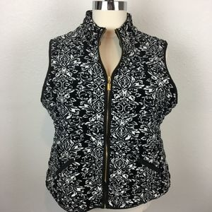 Charter Club Velour Quilted Vest Size 3X